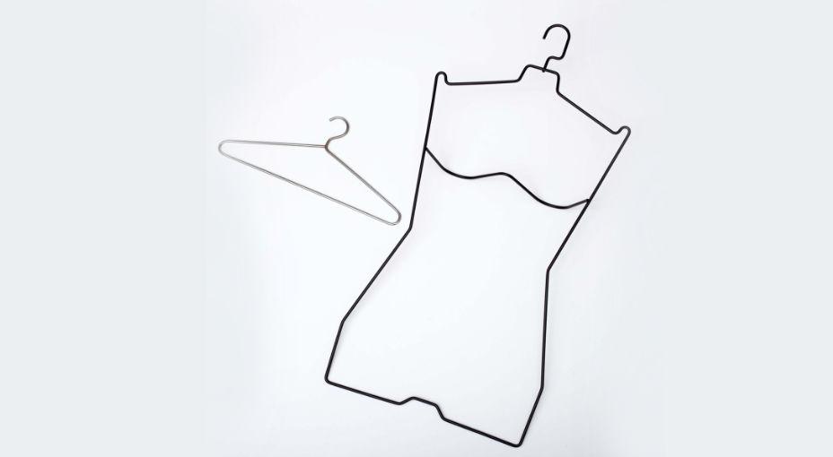 Appendino e divisorie in filo metallico settore moda
